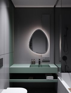 Home Interior Dark Modern Minimalist Apartment Designs Under 75 Square Meters Washroom Design, Toilet Design, Bathroom Interior Design, Bad Inspiration, Bathroom Inspiration, Modern Bathroom, Small Bathroom, Master Bathroom, Zebra Bathroom