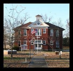 Portia School in Lawrence County, Arkansas