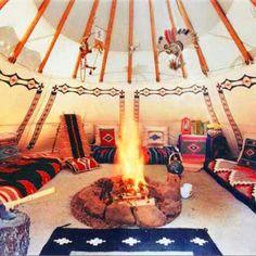 Tee pee guest house