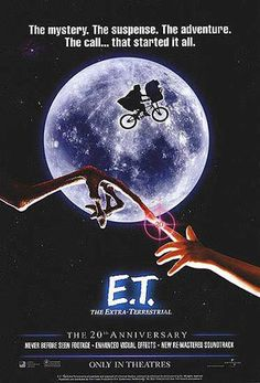"ET (1982) - Gertie: ""Here he is."" Mary (opening the refrigerator): ""Here's who?""  Gertie: ""The man from the moon. But I think you've killed him already."""