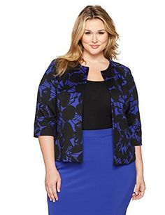 """Product review for Kasper Women's Plus Size Printed Scuba Crepe Flyaway Jacket.  - Complete your must have look with this flyaway jacket       Famous Words of Inspiration...""""It is when people forget God that tyrants forge their chains.""""   Patrick Henry — Click here for more from Patrick..."""