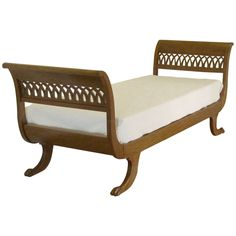 Fine Mid-20th Century Day Bed   See more antique and modern Day Beds at http://www.1stdibs.com/furniture/seating/day-beds