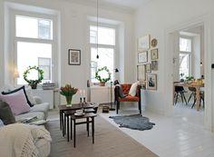 scandinavian apartment style