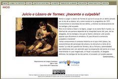 Todos los 4º ESO del instituto Arrigorriaga BHI hemos comenzado a prepara el Juicio A Lázaro de Tormes.