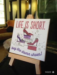 Invierno 2015 Life Is Short, Cover, Stuff To Buy