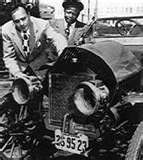 Car trouble. Maxwell car trouble: Eddie Anderson as Rochester with Jack Benny