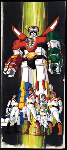 Voltron ~ The Original Gundam, Retro Cartoons, Classic Cartoons, Cartoon Tv Shows, Cartoon Characters, Gi Joe, Jhon Green, Voltron Force, Voltron 80s