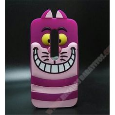 Carcasa 3D silicona gato alice sonriente para mi MOTO G 3ª GENERACIÓN
