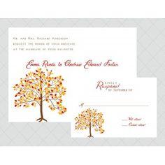 Tree Wedding Invitations - Whimsical Prints