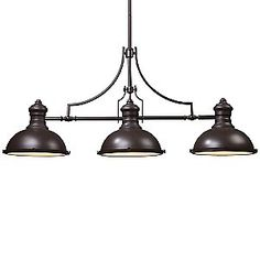 (Limited Supply) Click Image Above: Chadwick Linear Suspension By Landmark Lighting