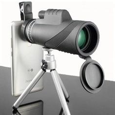 Zoom Hd, Wifi Connect, Phone Clip, Wide Angle Lens, The Way Home, Camera Gear, Led, Gaudi, Travel