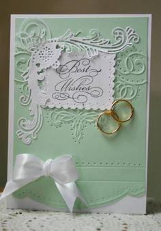 IC326 Wedding rings. by Holstein - Cards and Paper Crafts at Splitcoaststampers