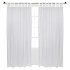Add a touch of style to your home décor indoors or out with this Escape Hook- &-Loop window panel from Outdoor Décor. Its 100% polyester construction makes it resistant to fading and UV rays. Available in a variety of colors and in 3 different lengths. Fits most standard-sized windows.