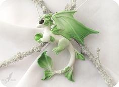 Spring forest dragon necklace by AlviaAlcedo.deviantart.com on @deviantART