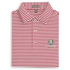 University of Georgia Bulldogs Stripe Polo Ryder Cup, Golf Shirts, Mesh Fabric, Polo, Shirt Dress, Mens Tops, Women, Fashion, Pique