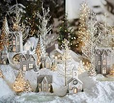 Decorating For Christmas & Decorations For Christmas | Pottery Barn- My family had one like this when I was little so it brings back memories