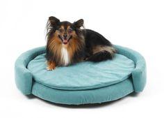 Petbed Chips - luxusní pelíšek pro psy jako kruhová válenda