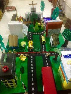Maquete: cidade sustentável