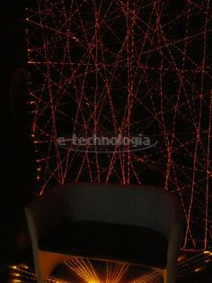 Fiber optic lighting - decorative element - the lighting in the shop window lighting - between walls - lighting in the ceiling of the corridor www.e-technologia.pl