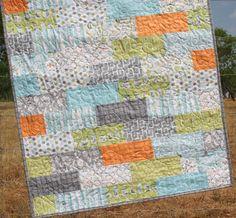 Backyard Baby Baby Boy Quilt by SunnysideDesigns2 on Etsy. $148.00 USD, via Etsy.