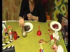 ▶ Tutorial segnaposto natalizio di Arte e Creatività di Carmen Pellecchia idea regalo Natale - YouTube