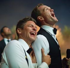 One year ago today I had the pleasure of marrying David Burtka. I'm so happy that I did - he's a truly wonderful man. Here's to many more laughs and adventures..!