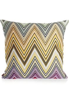 MISSONI HOME Kew embroidered down-filled cushion