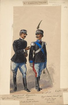 One of hundreds of thousands of free digital items from The New York Public Library. Italian Army, Army & Navy, Military Uniforms, New York Public Library, Historical Pictures, Reggio, Still Image, Digital, Woodworking Tools