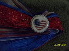 4th of July Ponytail by ang744 on Etsy, $4.00