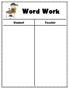 Anchor Charts for Daily Five