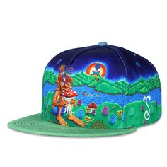 3f3471890fc Chris Dyer Muncher of Mushroomland Snapback