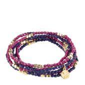 Layered Bead Bracelet in African Violet | Vera Bradley