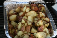 12 minute grilled potatoes