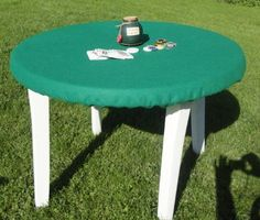 Green poker table covers - for round card Tablecloth - Elastic band FELT mto Patio Table, Outdoor Tables, Outdoor Decor, Poker Table Felt, Felt Games, Round Table Covers, Felt Cover, Table Games, Band