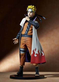 VIZ Media is teaming with Gecco for a special scale Naruto masterpiece statue of the world's most popular ninja, clad in Hokage coat version, to be offered exclusively at the VIZ Media booth ( during the San Diego Comic-Con Anime Naruto, Naruto Shippuden Sasuke, Shikamaru, Action Figure Naruto, Naruto Merchandise, Armadura Cosplay, Arte Ninja, Viz Media, Anime Figurines