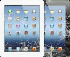 Apple Tablet reparatie  Is uw tablet op de grond gevallen? Is het scherm beschadigd of werkt het scherm niet meer?