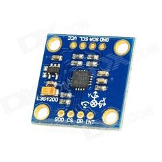 GY-50 L3G4200D 3-Axis Digital Gyro Sensor Module for Arduino (Works with Official Arduino Boards) . Model GY-50 Quantity 1 Color Blue Material PCB Features Chip: L3G4200D; Power supply :3~5V; Communication methods: IIC / SPI communication protocol; Measuring range: 250 / 500 / 2000 dps Application For gaming, virtual reality input device, motion control , HMI, GPS, electrical equipment and robotics Packing List 1 x Sensor module 1 x Straight 2.45mm pin header 1 x Right angle 2.45mm pin…