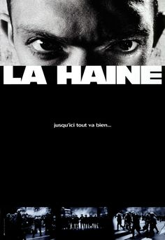 La Haine - Mathieu Kassovitz Avec Vincent Cassel, Said Taghmaoui, Hubert Koundé 10 Film, Film Movie, Super 8 Film, Pulp Fiction, La Haine Film, Film Scene, A Serbian Film, Film Logo, French Movies