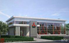 Автосалон: архитектура, зd визуализация, 2 эт | 6м, минимализм, 300 - 500 м2, каркас - металл, торгово-развл. центр, здание, строение, фасад - стекло, архитектура #architecture #3dvisualization #2fl_6m #minimalism #300_500m2 #frame_metal #shoppingandentertainingcenter #highrisebuilding #structure #facade_glass #architecture