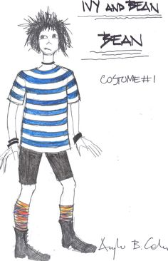 """""""ivy + Bean the Musical"""" costume design by Angela Calin"""