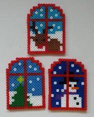 Výsledek obrázku pro snowman perler beads