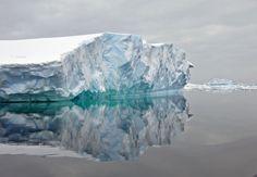 Wow, #Antarctica iceberg.  Crazy.