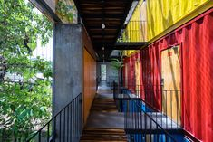 Image 22 of 39 from gallery of Ccasa Hostel  / TAK architects. Photograph by Quang Tran