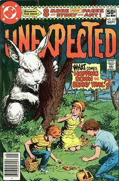 Unexpected #202, Nerdvana's Classic Comic Cover Corner for Easter