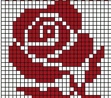 66 Best ideas for knitting patterns fair isle flower Tapestry Crochet Patterns, Crochet Flower Patterns, Loom Patterns, Pony Bead Patterns, Crochet Flowers, Beading Patterns, Crochet Designs, Punto Red Crochet, Crochet Chart