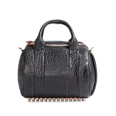 Alexander Wang rockie bag with rosegold hardware