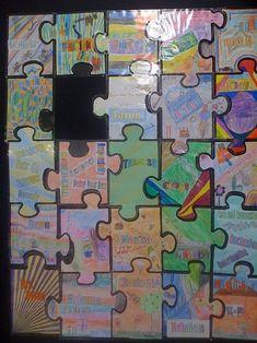 Blank Jigsaw Puzzle Template - K-3 Teacher Resources