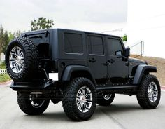 Jeep♡ I want this! Jeep♡ I want this! Auto Jeep, Jeep Jk, Jeep Truck, Jeep Rubicon, Dream Cars, My Dream Car, Jeep Wrangler Negro, Blacked Out Jeep Wrangler, Jeep Wranglers