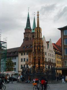 Schoner Brunner Fountain, Nuremberg