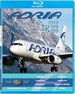 Just Planes BluRay - Adria A319 CRJ200 CRJ900 - We have these in stock now in Brisbane, Australia. Buy local.